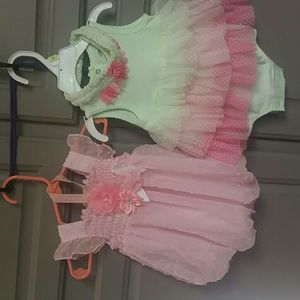 2 size 3 month rompers